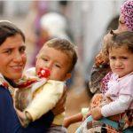 Femmes syriennes avec leurs enfants